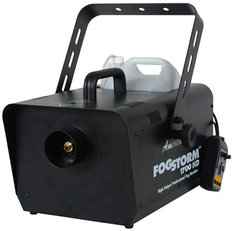 American DJ FOGSTORM 1700HD Fog Machine with Remote - ProSound and Stage Lighting