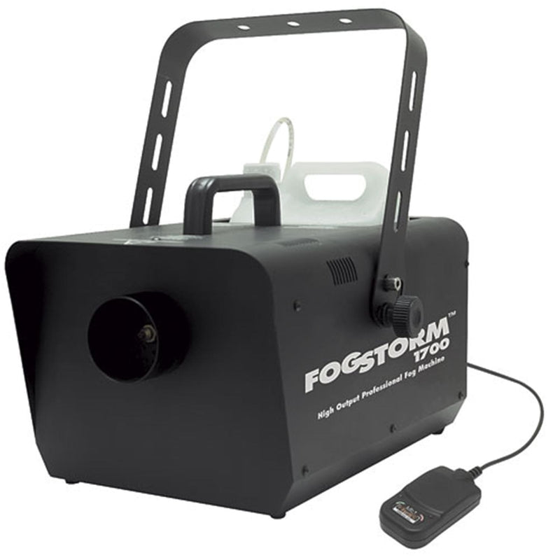 AMERICAN DJ FOGSTORM 1700 FOG MACHINE with REMOTE - ProSound and Stage Lighting