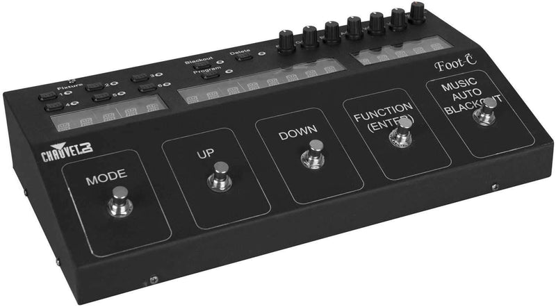 Chauvet Foot-C 36-Channel DMX Foot Controller - ProSound and Stage Lighting