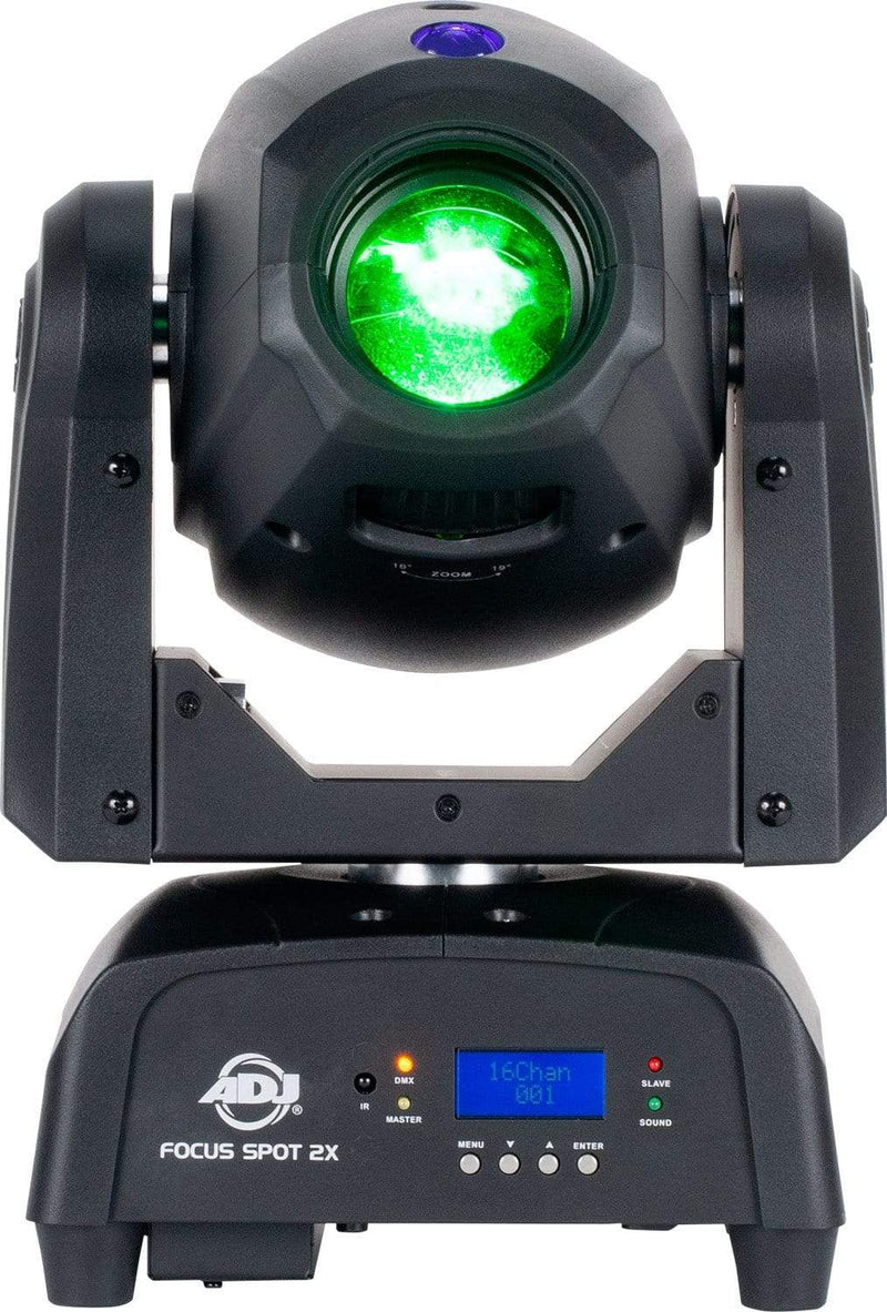 ADJ American DJ Focus Spot 2X 100W LED Moving Head Light w/ UV - PSSL ProSound and Stage Lighting