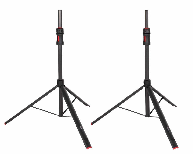 Gator GFW-ID-SPKR-SET Frameworks ID Series Speaker Stand Pair with Bag - PSSL ProSound and Stage Lighting