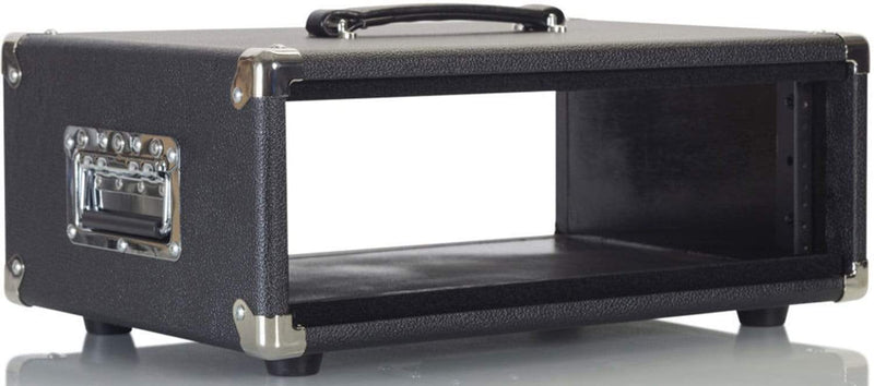 Gator Vintage Amp Vibe Rack Case - 3U Black - PSSL ProSound and Stage Lighting