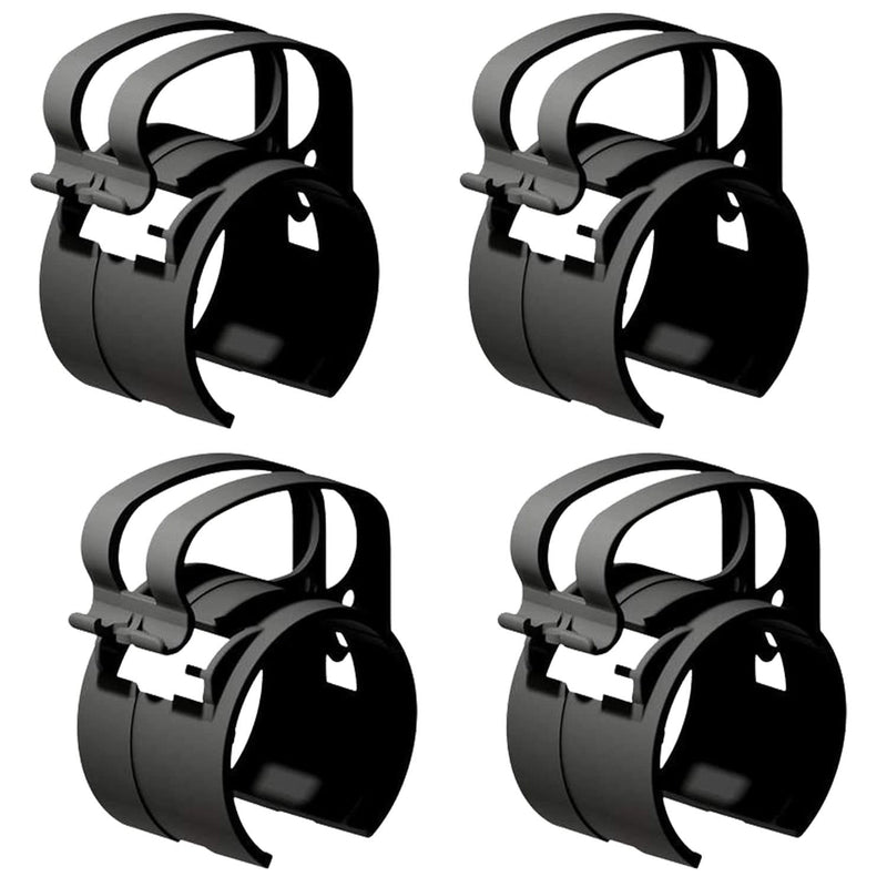 Global Truss DT-SNAP/LT BLK Cable Management Clamp 4-Pack (Black) - PSSL ProSound and Stage Lighting