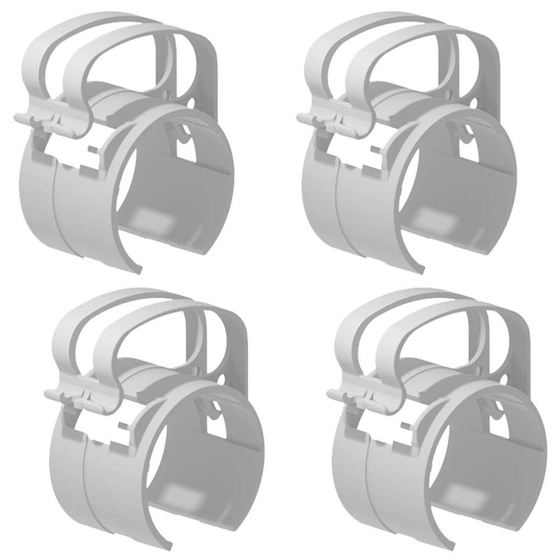 Global Truss DT-SNAP/LT Cable Management Clamp 4-Pack (Grey) - PSSL ProSound and Stage Lighting