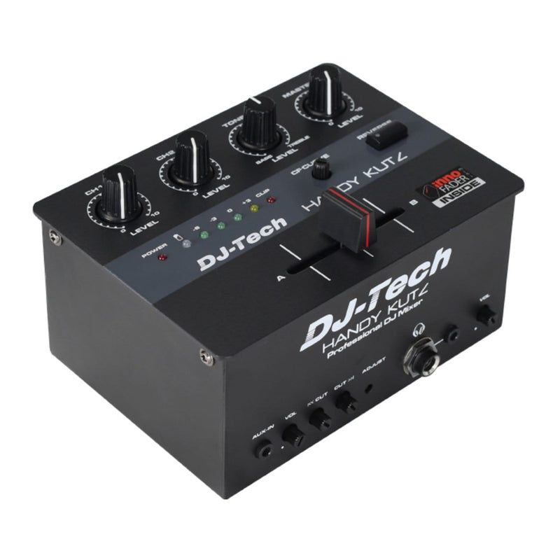 DJ-Tech HANDY KUTZ Battery Powered DJ Mixer with Mini innoFADER - PSSL ProSound and Stage Lighting
