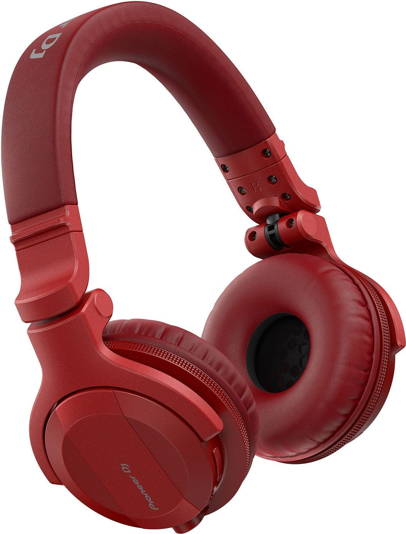 Pioneer HDJ-CUE1BT-R Wireless Bluetooth DJ Headphones - Red - PSSL ProSound and Stage Lighting