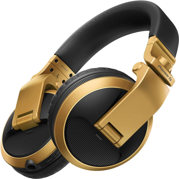 Pioneer HDJ-X5BT-N Gold DJ Headphones - PSSL ProSound and Stage Lighting