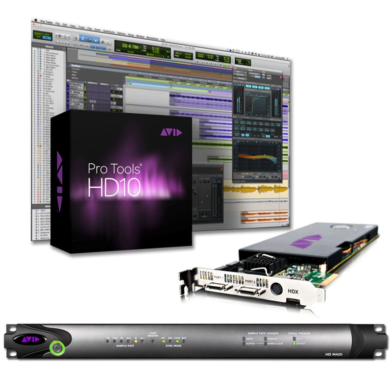 Avid Pro Tools HDX MADI System 9935-65116-00 - PSSL ProSound and Stage Lighting