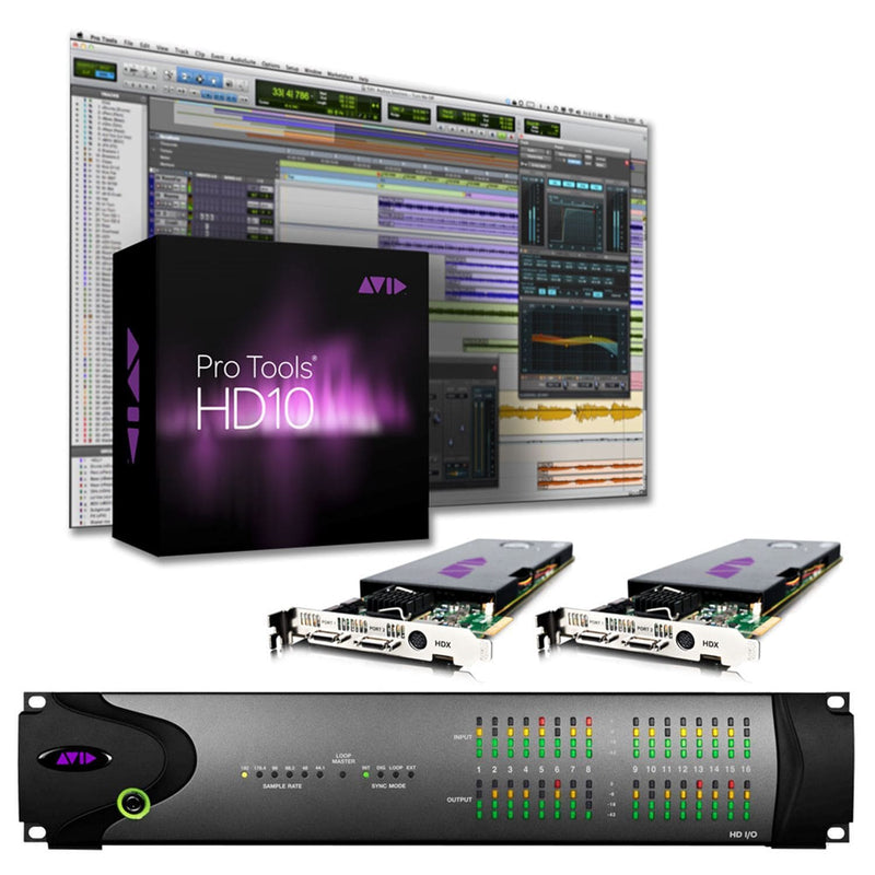 Avid Pro Tools HDX2 8X8X8 System 9935-65119-00 - PSSL ProSound and Stage Lighting