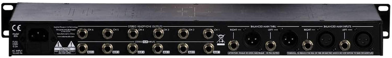 ART HeadAmp6Pro Pro 6-Channel Headphone Amplifier - PSSL ProSound and Stage Lighting
