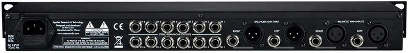 ART HeadAmp6 Six Channel Headphone Amplifier - PSSL ProSound and Stage Lighting