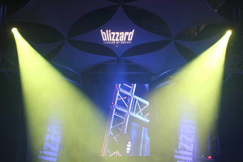 Blizzard Helios Spot 150-Watt RGBW LED Spot - PSSL ProSound and Stage Lighting