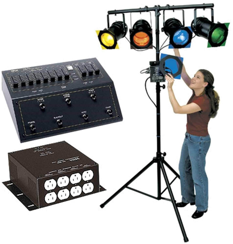 Leviton Hands Free Lighitng Sys Par 56 & MC7008 - PSSL ProSound and Stage Lighting