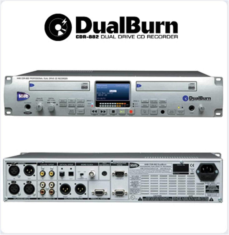 Sennheiser CDR-882 Dual Burn Dual CD Recorder - PSSL ProSound and Stage Lighting