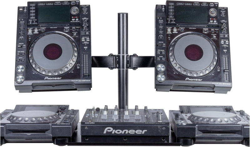 Headliner HL22000 Avalon Dual CDJ Stand - PSSL ProSound and Stage Lighting