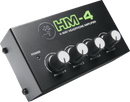 Mackie HM-4 4-Way Headphone Amplifier - PSSL ProSound and Stage Lighting