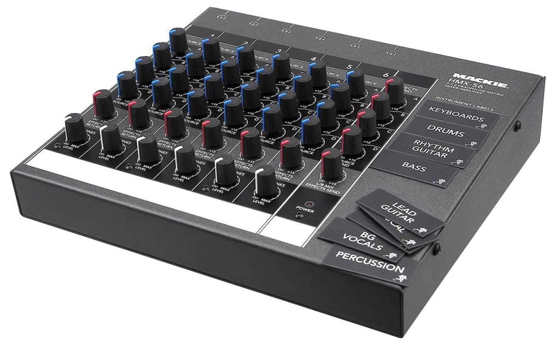 Mackie HMX-56 6 CH. Headphone Matrix Mixer - PSSL ProSound and Stage Lighting
