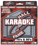 Sound Choice HOF781 Hall Of Fame - 70S And 80S - PSSL ProSound and Stage Lighting