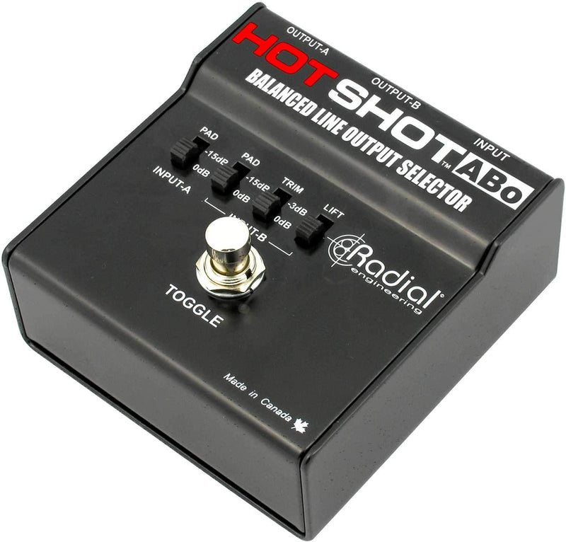 Radial HotShot ABo Latching Footswitch - PSSL ProSound and Stage Lighting