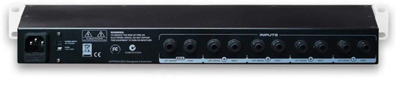 SM Pro HP-6E 6 Channel headphone Amplifier - PSSL ProSound and Stage Lighting