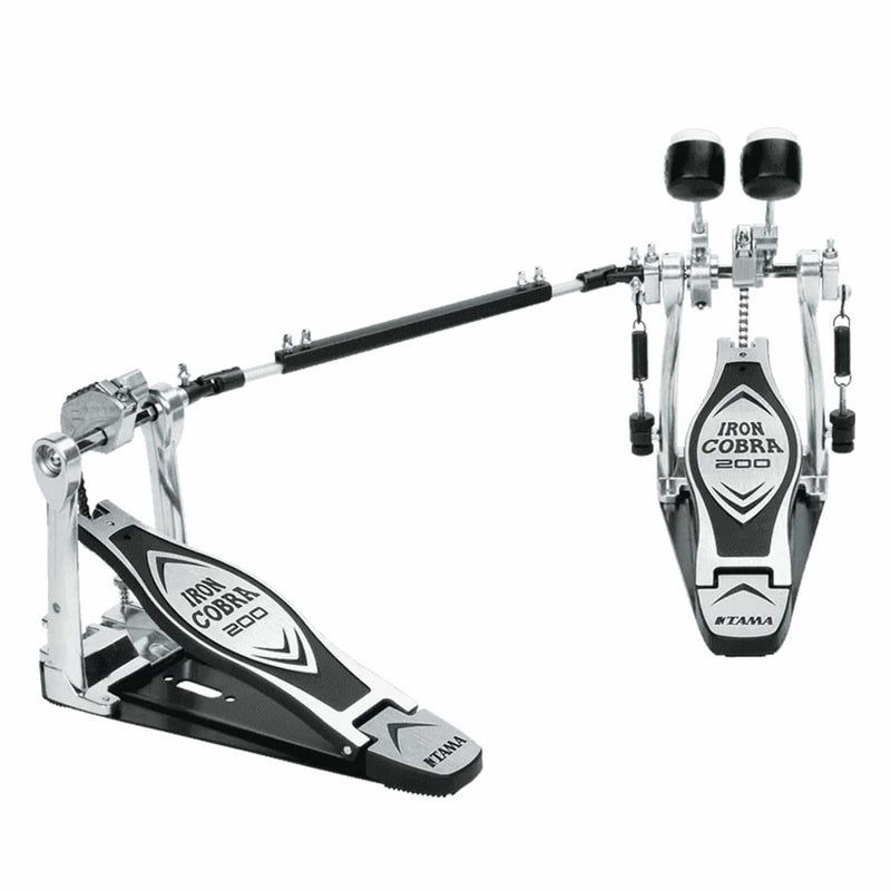 Tama HP200PTW Iron Cobra Series Double Kick Pedal - PSSL ProSound and Stage Lighting
