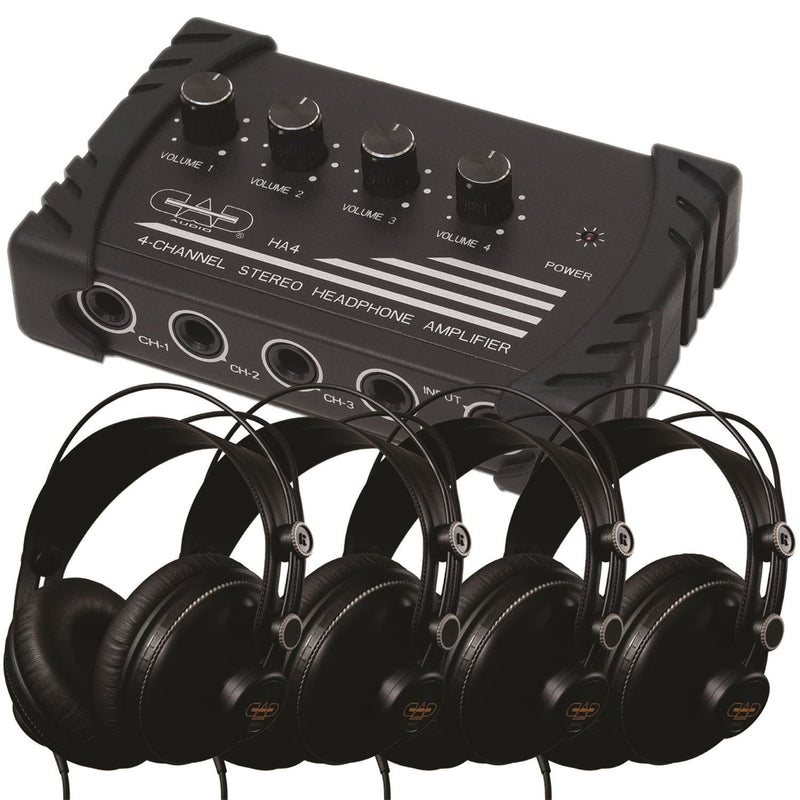 CAD HP310 Dlx Studio Headphone & Amp Package - PSSL ProSound and Stage Lighting