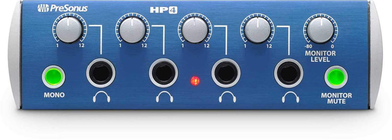 PreSonus HP4 4-Channel Headphone Amp - PSSL ProSound and Stage Lighting
