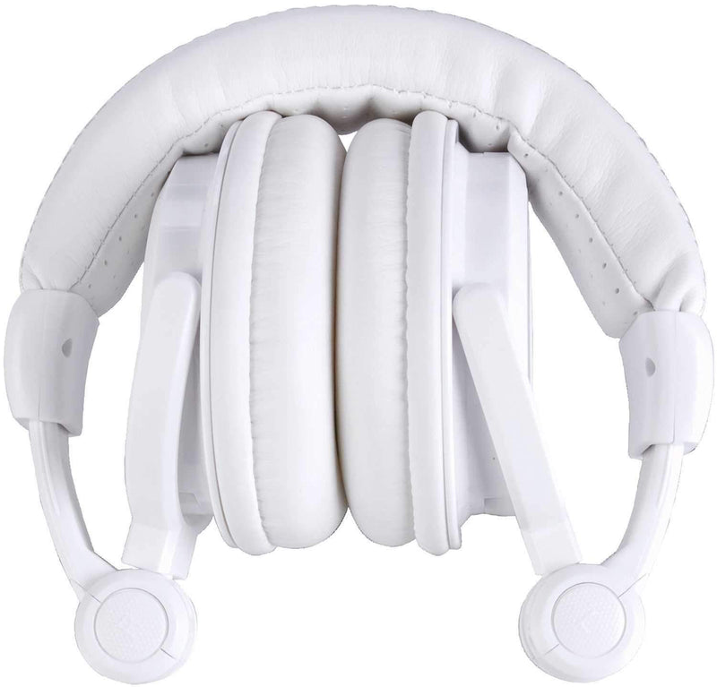 American Audio HP550W Pro DJ Headphones White - PSSL ProSound and Stage Lighting