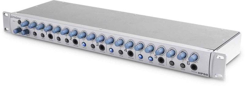 PreSonus HP60 6-Channel Headphone Mixing System - PSSL ProSound and Stage Lighting