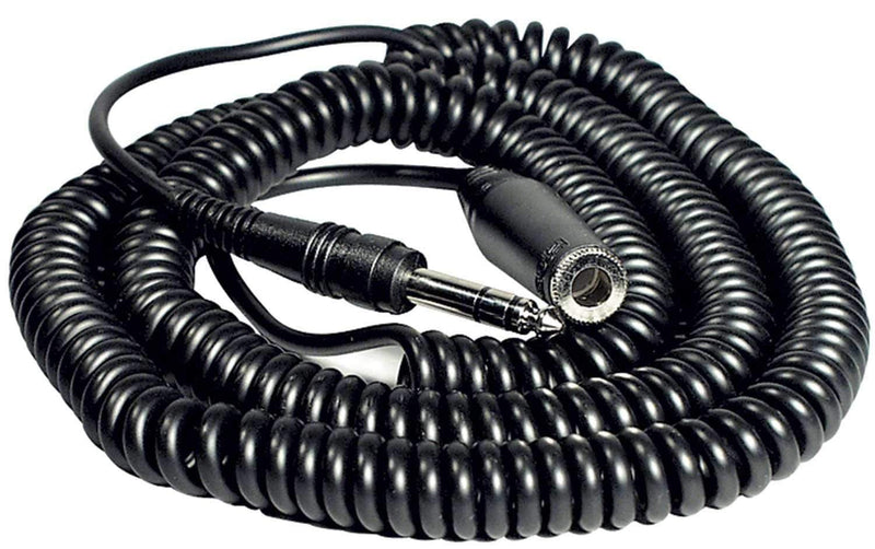 "Hosa HPE-225 Headphone Extension Cable 1/4"" (F) to 1/4"" (M) 25 Foot - PSSL ProSound and Stage Lighting"