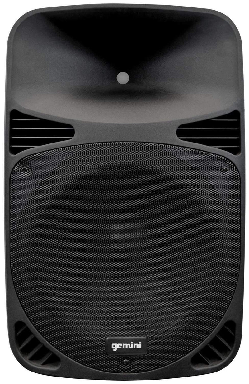 Gemini HPS 12BLU 12 in Powered Speaker w Bluetooth - PSSL ProSound and Stage Lighting