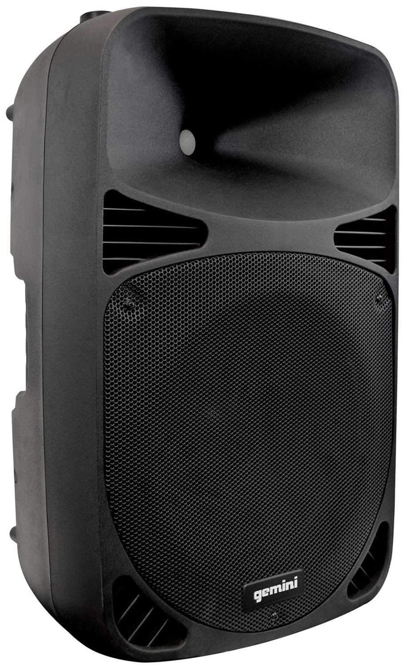Gemini HPS 15BLU 15 in Powered Speaker w Bluetooth - PSSL ProSound and Stage Lighting