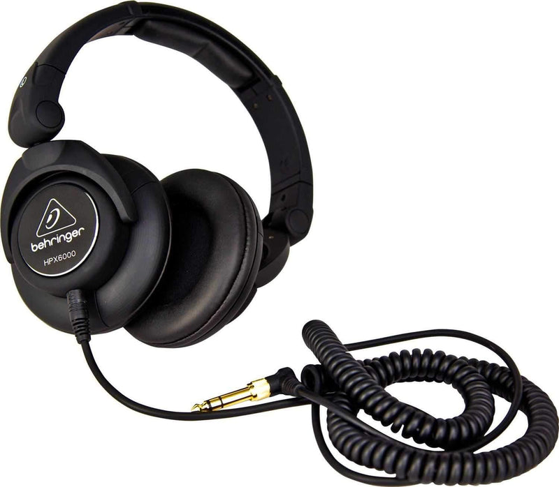 Behringer HPX6000 DJ Headphones - PSSL ProSound and Stage Lighting
