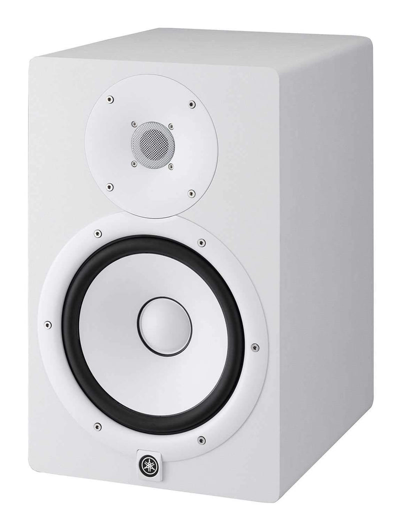 Yamaha HS8-W White 8-Inch Powered Studio Monitor - PSSL ProSound and Stage Lighting
