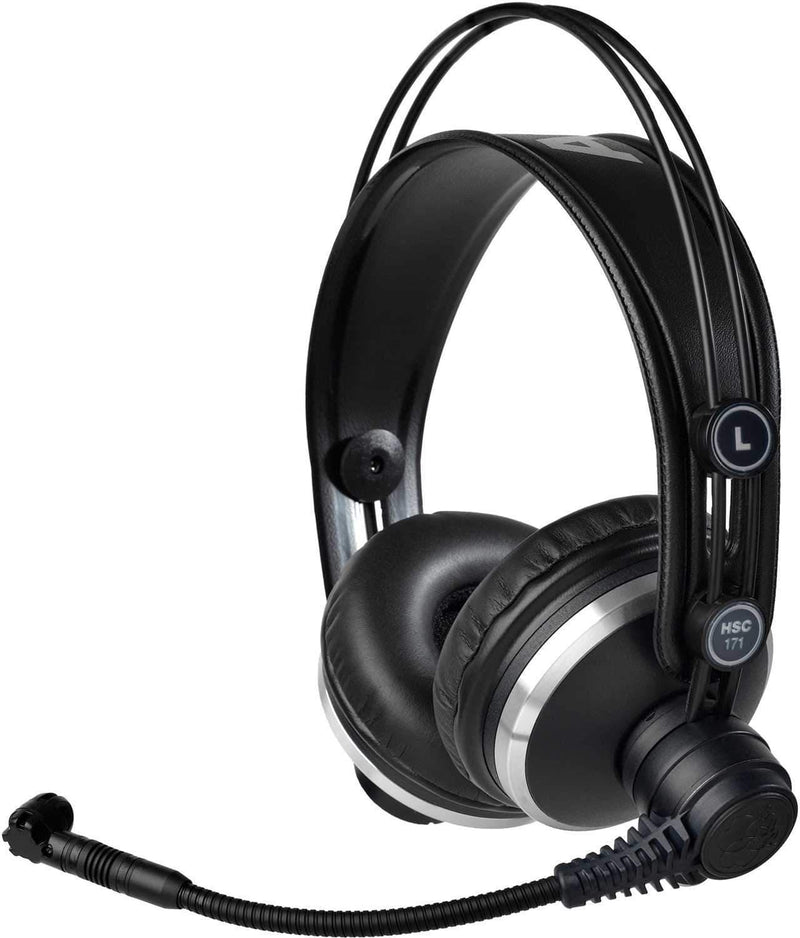 AKG HSC171 Prof Headset w Condenser Microphone - PSSL ProSound and Stage Lighting