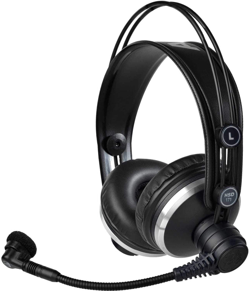 AKG HSD171 Prof Headset w Dynamic Microphone - PSSL ProSound and Stage Lighting