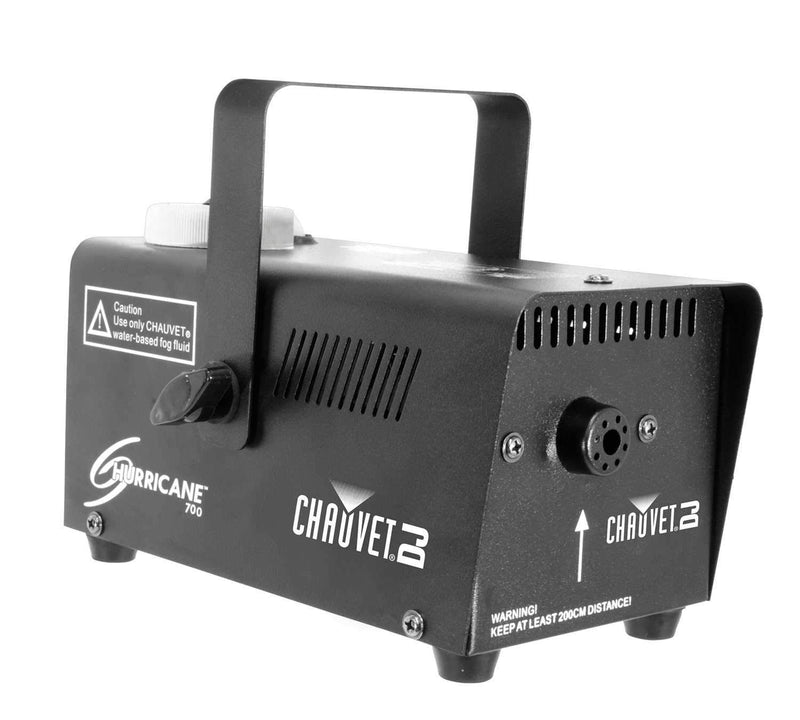 Chauvet Hurricane 700 Water Fog Machine with Remote & Fog Fluid - PSSL ProSound and Stage Lighting
