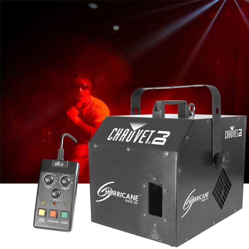 Chauvet Hurricane Haze 3D Water Based Haze Machine - PSSL ProSound and Stage Lighting