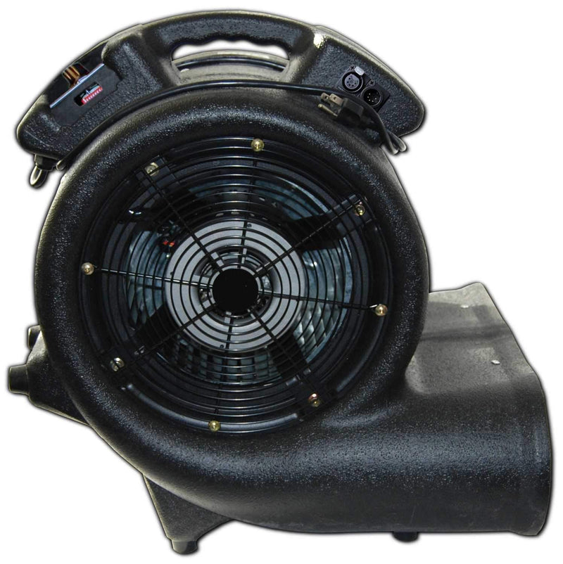 CITC Hurricane II Hanging 19 in 3 Speed DMX Fan - PSSL ProSound and Stage Lighting
