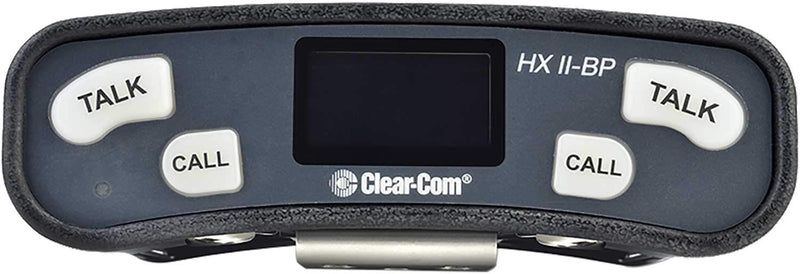 Clear-Com HXII-BP-X4 Helixnet Dual Monaural Beltpack - PSSL ProSound and Stage Lighting