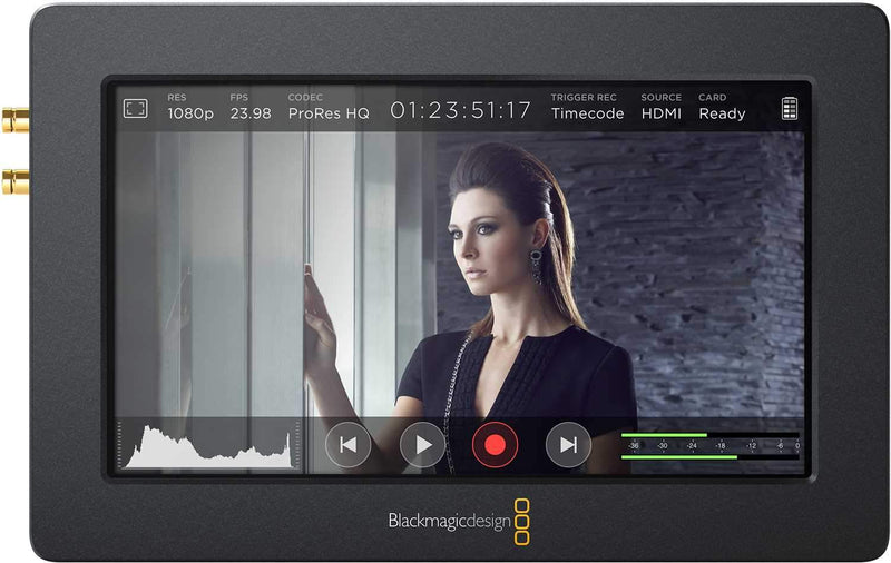 Blackmagic Design Video Assist Recorder Monitor - PSSL ProSound and Stage Lighting