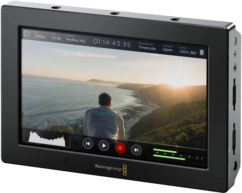 Blackmagic Design Video Assist 4K Recorder Monitor - PSSL ProSound and Stage Lighting