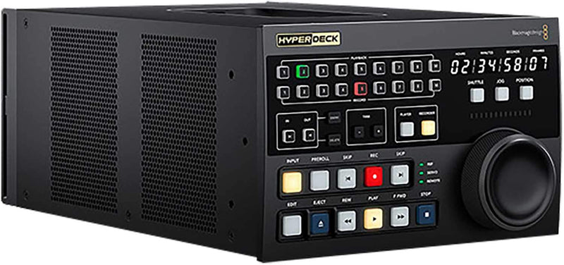 Blackmagic Design HyperDeck Extreme Broadcast Deck Control Unit - PSSL ProSound and Stage Lighting