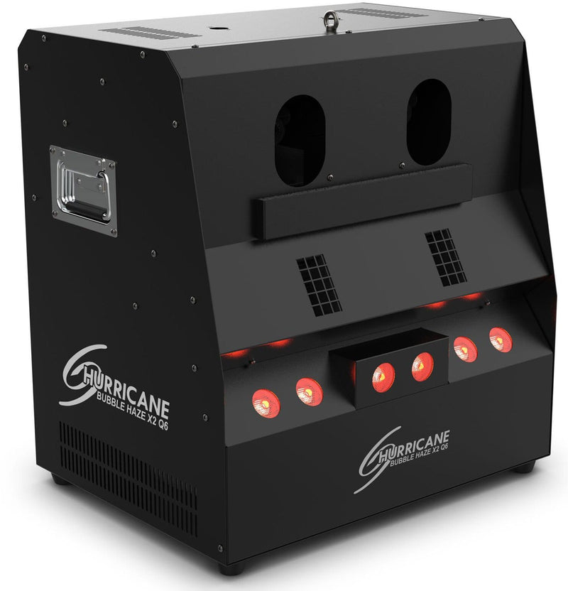 Chauvet Hurricane Bubble Haze X2 Q6 Atmospheric Machine w/ LEDs - PSSL ProSound and Stage Lighting