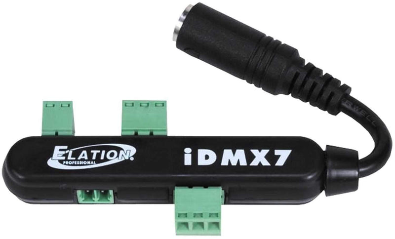 Elation iDMX 7 Mini DMX Recorder/Controller - PSSL ProSound and Stage Lighting