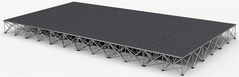 IntelliStage ISTAGE-122416 12ft x24ftx16in Stage - PSSL ProSound and Stage Lighting