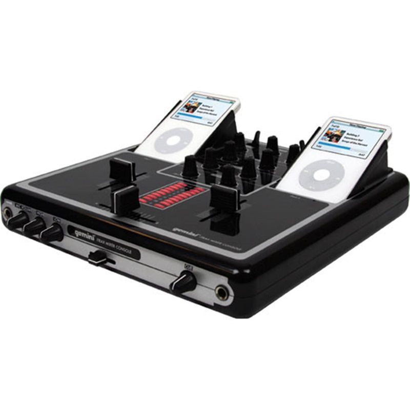 Gemini I-TRAX Dual Ipod & 2-Channel Mixer with USB - PSSL ProSound and Stage Lighting