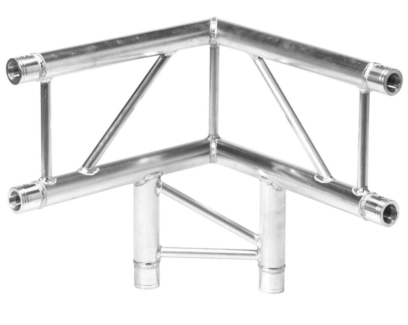 Global Truss IB-4063V 1.64Ft (.5M) I-Beam F32 3-Way 90 Degree Corner - PSSL ProSound and Stage Lighting