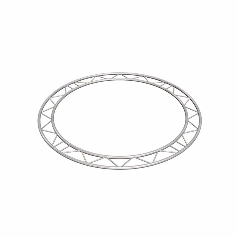 Global Truss IB-C4-H90 13.12 Ft Horizontal I-Beam Truss Circle - PSSL ProSound and Stage Lighting