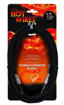 On-Stage Hot Wires IC-10 Instrument Cable 10Ft - PSSL ProSound and Stage Lighting